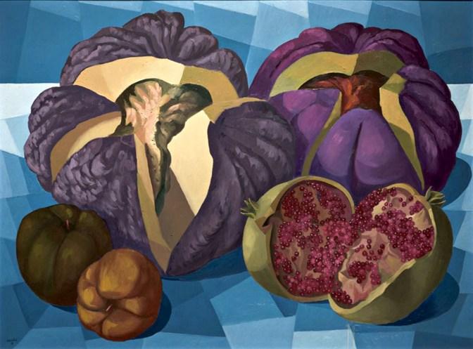 Meloni rospe e melagrana