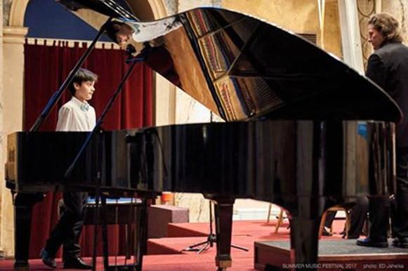 Giorgio con il direttore Sergei Kalyanov