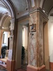colonnato restaurato chiesa beata vergine dello spino reggiolo