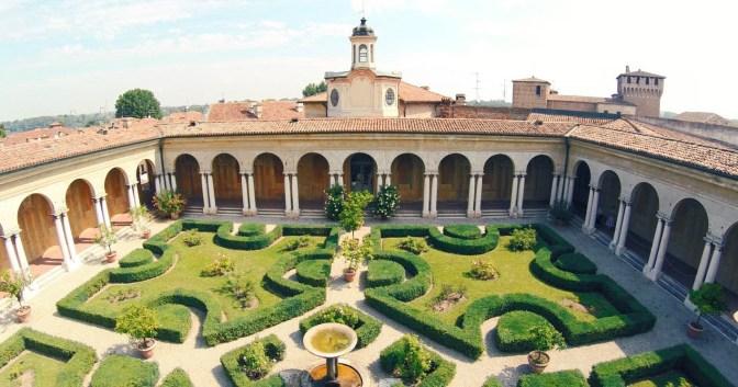 Giardino pensile di Palazzo Ducale Mantova