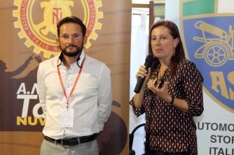 IL PRESIDENTE DI AMAMS CLAUDIO SCAPINELLO e Vicepresidente del Consiglio Comunale, Avv. Maddalena Portioli