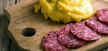polenta e salame