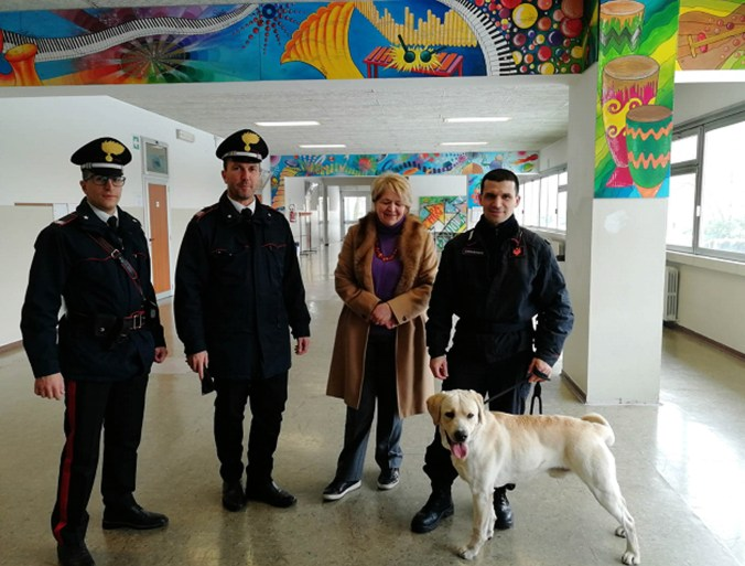 Carabinieri Viadana controllo liceo