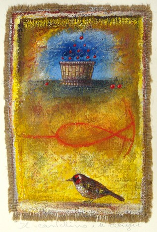 Stefano Ciaponi, Il cardellino e le ciliegie