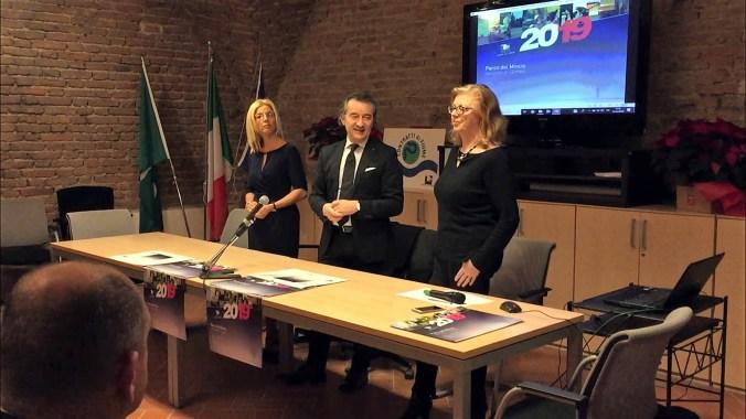 da sx -Cinzia De Simone, Maurizio Pellizzer, Gloria De Vincenzi