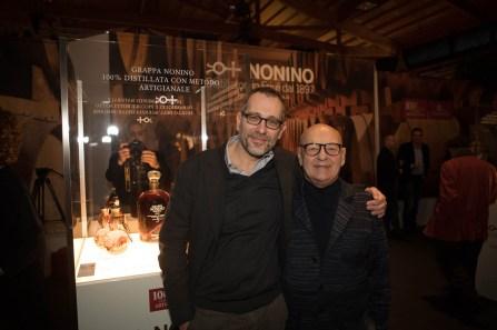 Corrado Formigli e Benito Nonino 0315