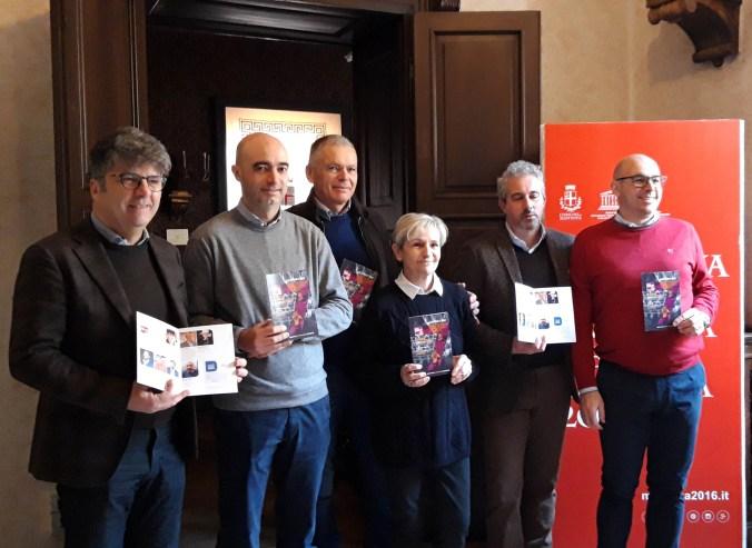 da sx - Rossi, Caprini, Pezzo, Bertaiola, Cressoni, Baroni