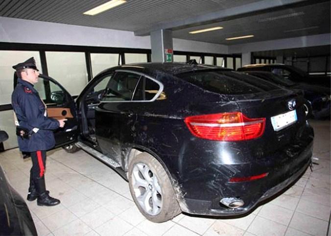 BMW X6 recupero dei Carabinieri Viadana.jpg