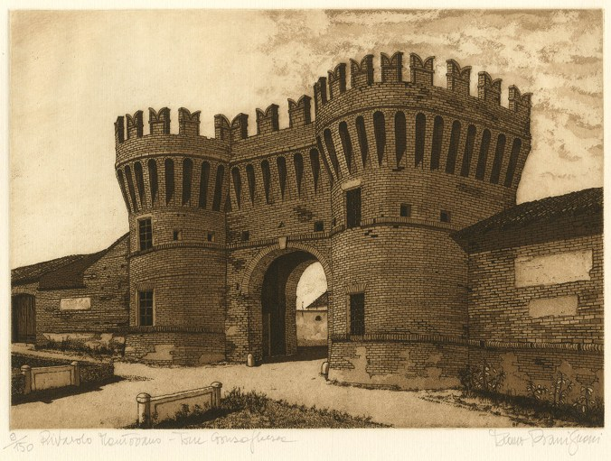 Bassignani - Rivarolo Mant.no, Torre Gonzaghesca
