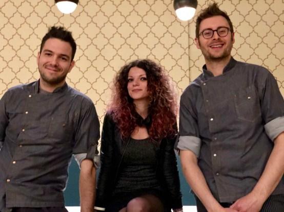 Aiuto Chef Patrick Mantovani - Titolare Elena Storchi - Chef Stefano Roversi