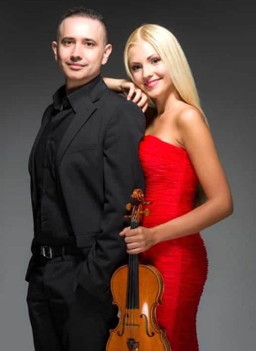 anastasiya petryshak in concerto con il pianista lorenzo meo