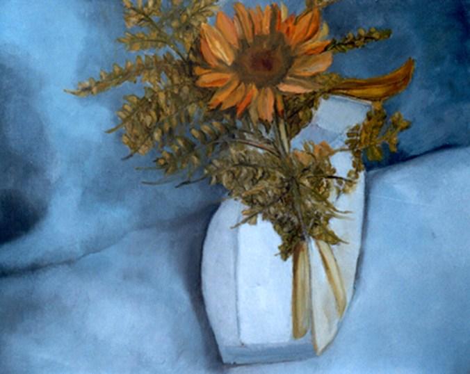BC Girasole, 2005 - olio su tavola 50x40
