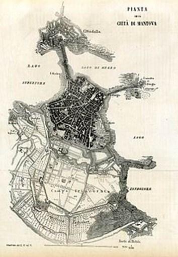 Mappa di mantova (1858)