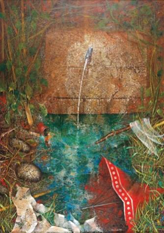 Anno: 1995 - Dimensioni: 140 x 100 - Tecnica: Olio su masonite