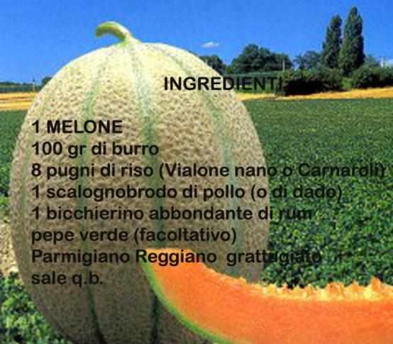 risotto al melone di sermide