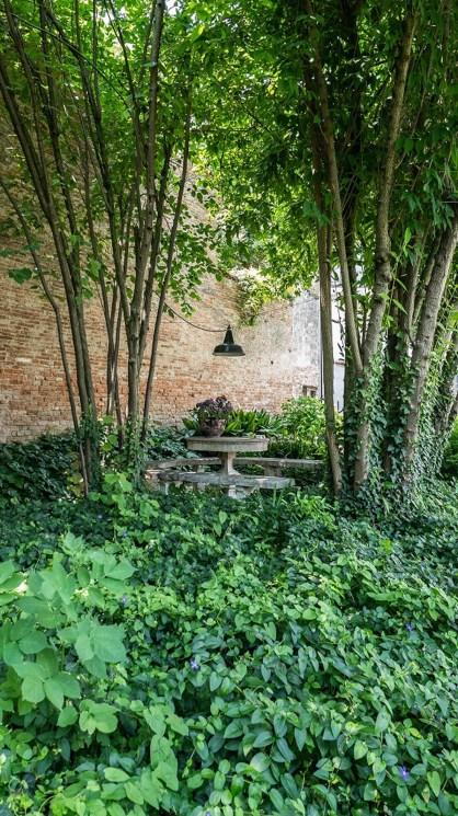 Interno Verde giardino via Chiassi 2
