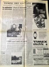 CORRIERE DELLA SERA 23-9-1969