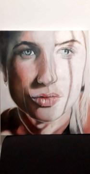 Ilaria Ingrosso Senza titolo olio su tela 60 x 70