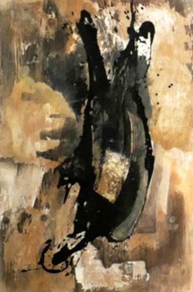 Ivan Cristobal ROjas Roa Senza Titolo Tecnica mista su legno 100 x 60