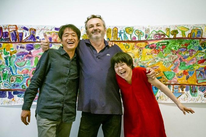 Makoto Nomura ,Dario Moretti , Kumiko Yabu credit Road Izumiyama