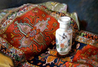 Vaso cinese e tappeto nomade.jpeg
