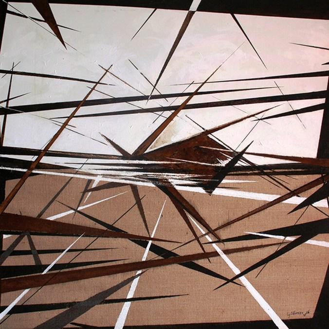 Giuseppe Cotroneo 2016 -  segni e contro segni nello spazio materico - tecnica mista su tela 100x100 copia.jpg