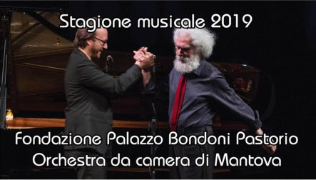 Roberto Prosseda con il poeta Nicola Mustichiello 1