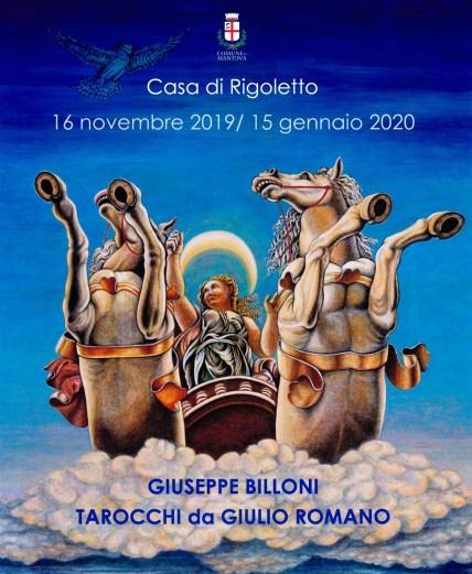 Locandina Tarocchi Giulio Romano Billoni