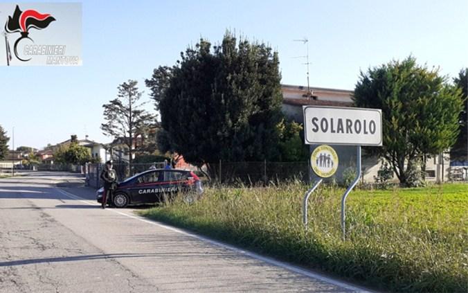 carabinieri controlli alto mantovano