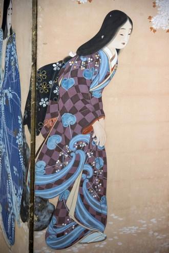 DETTAGLIO-3-Belt-femminili-paravento-a-6-ante-dipinto-a-inchiostro-e-colori-su-carta-173x372-cm-periodo-Taisho-1912-1926.