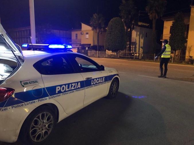Controlli della Polizia Locale Unione Bassa Romagna