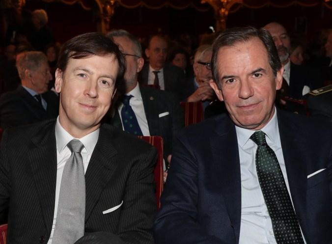 Presidente Giovanni Gorno Tempini e l'Amministratore delegato Fabrizio Palermo