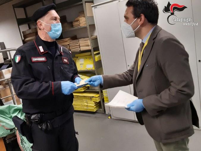 carabinieri consegnano pensione1