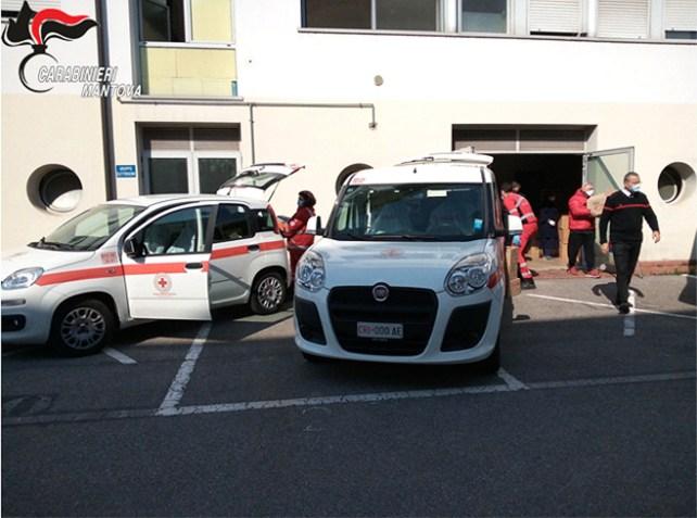 carabinieri e volontariato uniti per il coronavirus