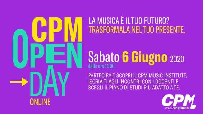 Open Day Online CPM