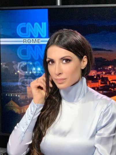 Valeria Altobelli alla CNN