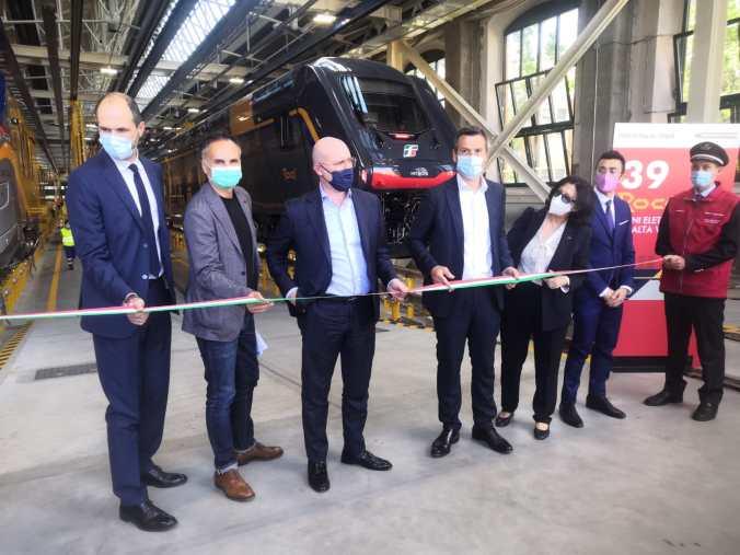 Inaugurazione dei treni ROK e POP