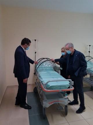 Visita assessore Donini all'Ospedale di Bazzano