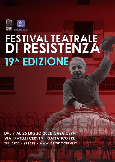 Fastival Teatrale di Resistenza 2020