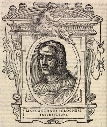 Marcantonio Raimondi ne Le Vite del Vasari.jpg