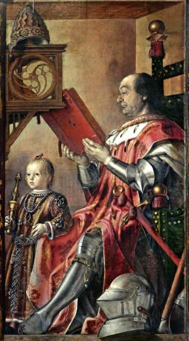 Raffaello (attribuito a), Ritratto di Guidubaldo da Montefeltro, 1502-04 circa., Firenze, Gallerie degli Uffizi.
