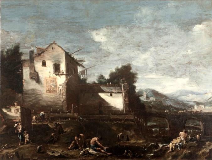 Alessandro Magnasco - Il vecchio mulino