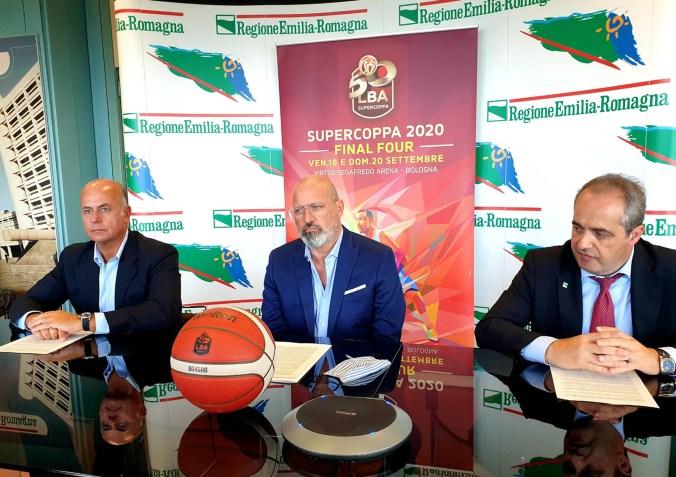 Basket - Presentazione Final Four Supercoppa