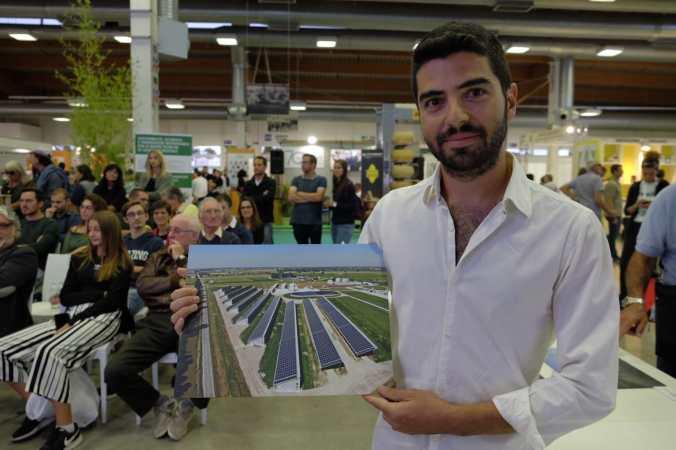 La premiazione di Francesco Bianchini, vincitore nel 2019
