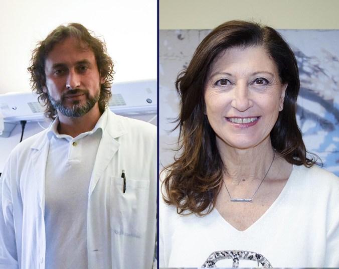 Luca Orazi e Giulia Pellizzari