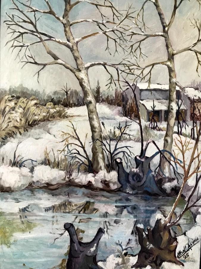 Paesaggi e personaggi retrospettiva dell'artista mantovano mario Dall'Acqua