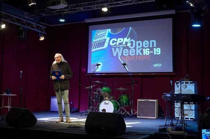 Franco Mussida Foto d'archivio_Open Week online 2020_