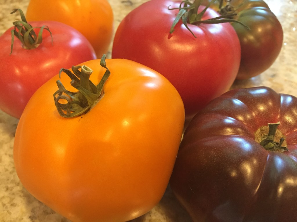 heirloom tomatos