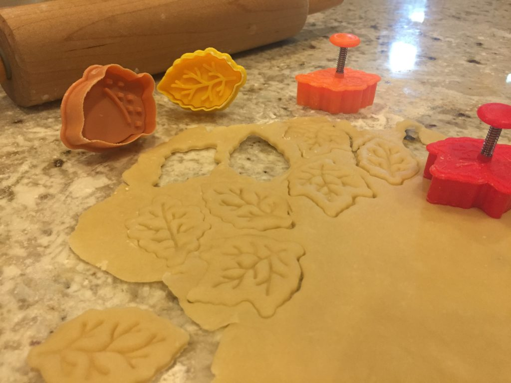 HomeGoods cutter/press, fall leaves