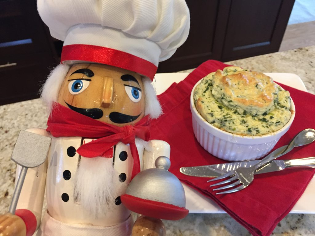 pepe with Kale souffle / mincoff cafe